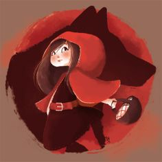 Red Riding Hood by Ln_illustrations