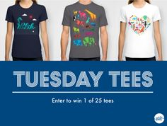 It's Tuesday Tees! Win a Blik tee until Wednesday, 3/23 at noon PST. Enter: https://api-apps.com/app/embed/user/w/sl/14224494051/sweepstakesmobile