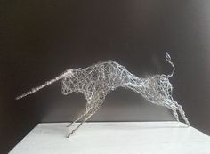 Buy Silver Bull, Sculpture by Linda Hoyle on Artfinder. Discover thousands of other original paintings, prints, sculptures and photography from independent artists.