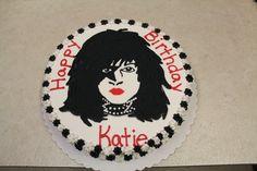 KISS Paul Stanley birthday cake
