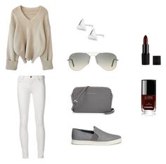 Untitled #2 by linasales on Polyvore featuring Vince, Ray-Ban, Chanel, women's clothing, women's fashion, women, female, woman, misses and juniors