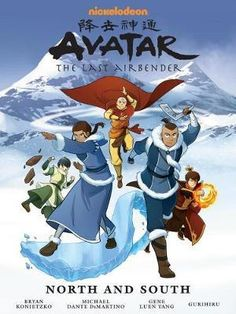 Buy Avatar: The Last Airbender - North And South Library Edition by Gene Luen Yang at Mighty Ape NZ. When Katara and Sokka return home to the Southern Water Tribe, they are shocked to find that it has gone from a small village to a bustling city! Avatar Aang, Avatar The Last Airbender Art, Team Avatar, Darkhorse Comics, Legend Of Aang, Avatar Picture, Comic Manga, Water Tribe, Nickelodeon