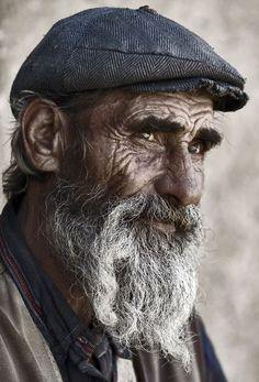 ♂ Old Man portrait Melancholy Requiem by salemwitch