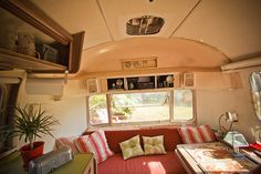 Cute airstream interior!