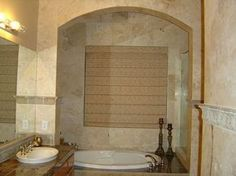Warm Bathroom Designs | ... Tiles Brings the Warm Elegance to Your Bathroom | Home Design Gallery