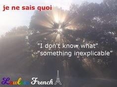 This charming #French expression may already be in your conversational repertoire. #learnfrench #lawlessfrench Idiomatic Expressions, French People, Teacher Boards, French Expressions, French Teacher, Learn French, French Language, Vocabulary, How To Find Out