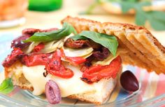Mediterranean Panini | Recipes & Tips | Mezzetta.com | Don't Forgetta Mezzetta