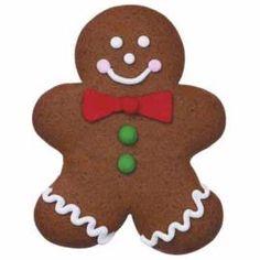 Jolly Gingerbread Guy Cookies
