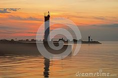 Photo about Sunrise image taken on the shores of Lake Ontario at Bronte Beach in Oakville, Ontario, Canada with Canada Geese in the forground. Image of approach, dawn, lake - 124873081 Sunrise Images, Bronte Beach, Oakville Ontario, Cn Tower, Lighthouse, Dawn, Canada, Building, Travel