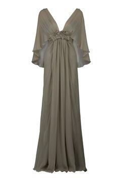 Elie Saab : empire waist dress. I really adore this dress.
