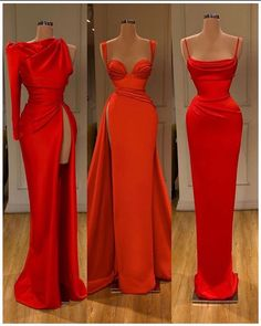 It's still the Holidays and we are still painting the town red Style Inspirations in Red to rock this festive season You can go full boss look like or keep it casual like ♥️♥️ . Pretty Dresses, Sexy Dresses, Beautiful Dresses, Fashion Dresses, Prom Dresses, Formal Dresses, Event Dresses, Occasion Dresses, Prom Outfits