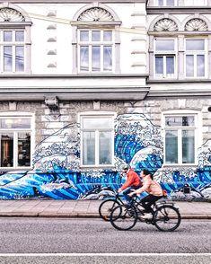 Urban street art in Hamburg: The art of the spray can – Graffiti World Best Graffiti, Graffiti Murals, Urban Graffiti, Urban Street Art, Urban Art, Urbane Kunst, Street Art Photography, Biarritz, Germany