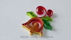 quilling christmas bell