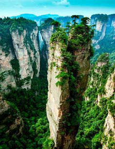 Split Pinnacle – Hunan China   |    129 Places Worth Visiting Once in a Lifetime