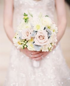 Pastels always result in a memorable, beautiful bouquet! Many thanks to ModWeddings for the feature and Kayla Barker Fine Art Photography for the great click!