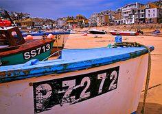 St Ives Cornwall . Uk.