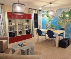 1000 images about study room on pinterest study rooms for Kids rec room ideas