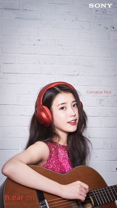 Cute Korean, Korean Girl, K Pop, Girl With Headphones, Ear Headphones, Anime Child, Celebrity List, Fashion Poses, Iu Fashion