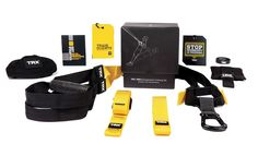 The TRX Pro suspension training kit is the best tool for professional trainers, designed with durability and safety so your clients get results anywhere.