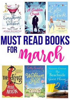 Need a new book to read? Check out my Must Read Books for March!