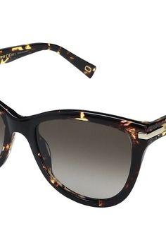 Marc Jacobs Marc 187/S (Crystal Havana with Brown Gradient Lens) Fashion Sunglasses - Marc Jacobs, Marc 187/S, MARC 187/S 0LWP/HA, Eyewear Fashion General, Fashion Eyewear, Fashion, Eyewear, Gift, - Street Fashion And Style Ideas