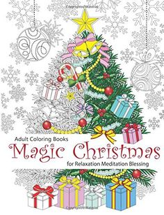 Adult Coloring Book: Magic Christmas : for Relaxation Meditation  Blessing von Cherina Kohey http://www.amazon.de/dp/1517098963/ref=cm_sw_r_pi_dp_xtkfxb0QD9Y3Y