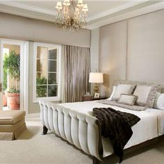 Master Bedroom By Leslie Thompson ASID MAGNIFICENT MASTER