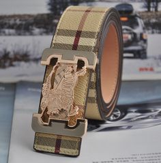 Burberry belt (rose metal)