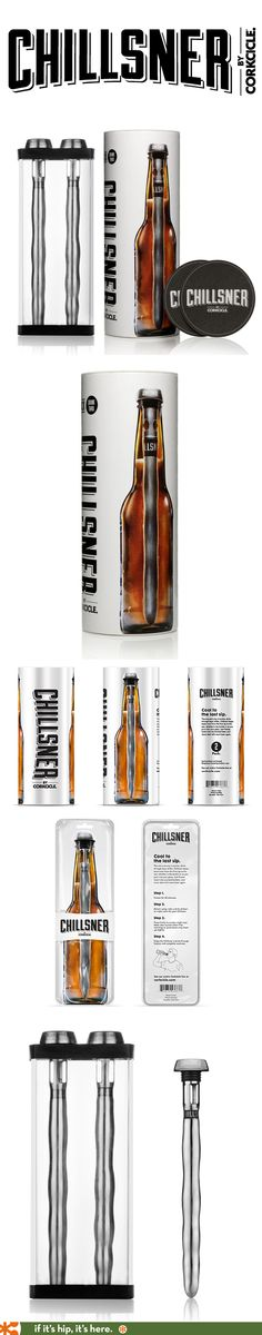 Chillsner packaging and branding by Chris Ladwig for PUSH.