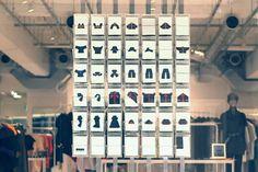 Issey Miyake's New Low-Tech Window Display