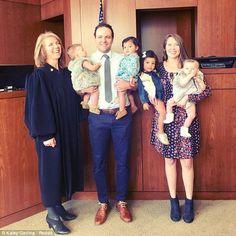Pareja adopto a 4 niños en 24 horas por no poder tener hijos.