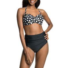 Sporty Cut High Waist Bikini Bottoms with Ruched Detail High Waisted Bikini Bottoms, Bikinis, Swimwear, Sporty, Legs, Detail, Fashion, Bathing Suits, Moda