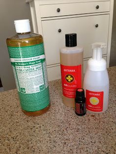 Purely Essential Recipes: DIY OnGuard Foaming Hand Wash