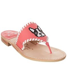 5b8bb842092 Jack Rogers Frenchie Leather Sandal   Our price   69.99 Palm Beach Sandals