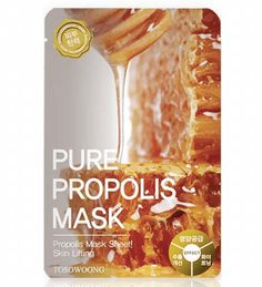 Tosowoong Pure Propolis Mask Pack - Peach & Lily
