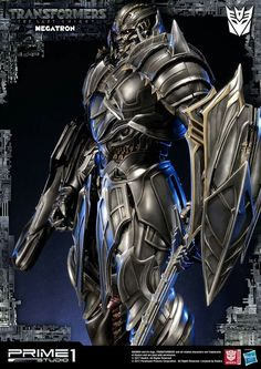 Transformers Megatron Statue by Prime 1 Studio Transformers Megatron, Transformers Movie, Battle Robots, Last Knights, Gundam Art, Live Action Movie, Comic Movies, I Am Awesome, Cyborgs