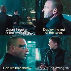 They're the Avengers.