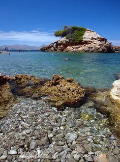 S´Illot de Alcudia en la Victoria,  illes Balears  Spain