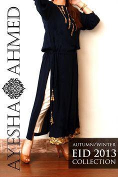 ayesha ahmed eid collection 2015 -