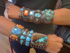 Killer accessory ~ Native American Turquoise Boho Glamrock Rocks!