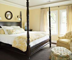Most popular tags for this image include: bedroom, cottage, vintage, yellow and yellow bedroom