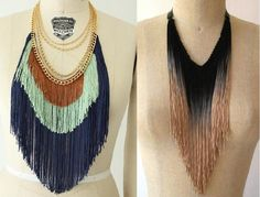 Doll Doll Boutique: DIY: Fringe Necklace