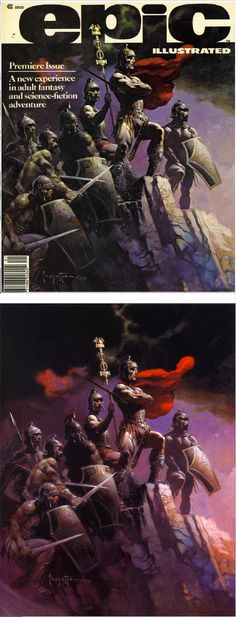 FRANK FRAZETTA - Epic Illustrated - Premiere Issue - Spring 1980 - Marvel Comics