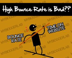 Do you still think High Bounce rate websites have no future? If yes, then think one more time. This is one of the biggest myths created by fellow Pro Bloggers to waste Newbies talent and time in uneventful activities...Read More ... http://www.mybloggerlab.com/2012/11/does-high-bounce-rate-is-bad-for-website.html