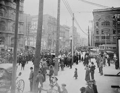 Anti Conscription Rally In Montreal 1917