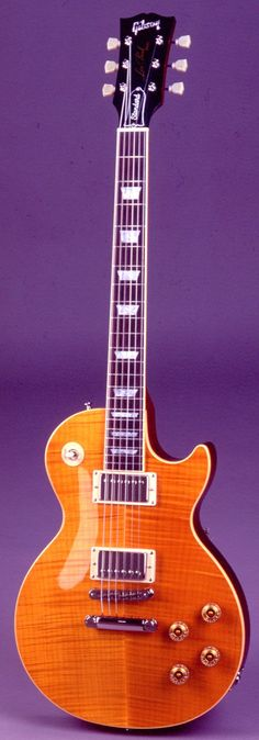 2002 Gibson Les Paul Standard '60's Neck, a.k.a. Amber