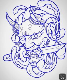 Chinese tattoo designs, tattoos for gi. Chinese tattoo designs, tattoos for gi. - -You can find Chinese tattoo and more on our website.Chinese t. Oni Tattoo, Hannya Maske Tattoo, Hanya Tattoo, Samurai Mask Tattoo, Tattoo Bird, Stencils Tatuagem, Tattoo Stencils, Tattoo Style, Tattoo Trend