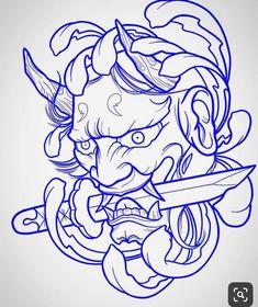 Chinese tattoo designs, tattoos for gi. Chinese tattoo designs, tattoos for gi. - -You can find Chinese tattoo and more on our website.Chinese t. Oni Tattoo, Yakuza Style Tattoo, Hannya Maske Tattoo, Hanya Tattoo, Tattoo Style, Samurai Mask Tattoo, Tattoo Bird, Stencils Tatuagem, Tattoo Stencils