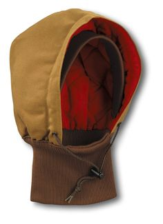 c6ead3bd123 Men s Duck Hood with Knit Collar Quilted-Flannel Lined (black)  24.99  Carhartt