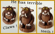 That Cute Little Cake: {Party favors} Gruffalo decorated cream eggs ! 3rd Birthday Cakes, Bear Birthday, Birthday Ideas, Gruffalo Party, Party Favors, Cake Party, Foundant, Cupcake Cakes, Cupcakes